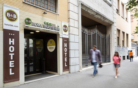 B&B Hotel Roma Trastevere: Facciata hotel