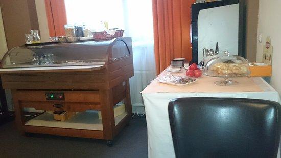 Boutique Monaco: Zona colazione