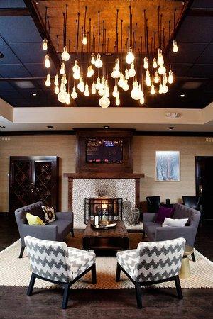 Hilton Greenville: Lounge