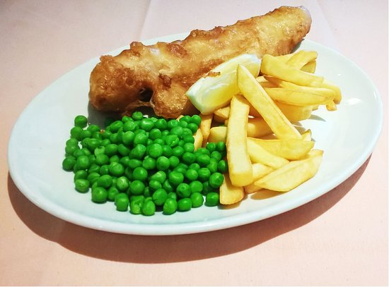 Chipping Norton, UK: Come down on Fish & Chip Fridays to get freshly fried haddock in a crispy Hooky beer batter.
