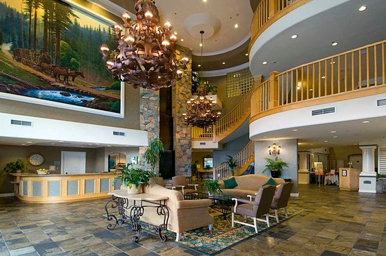 Hilton Santa Cruz / Scotts Valley: Lobby