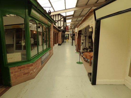 Exmouth, UK: shops of old