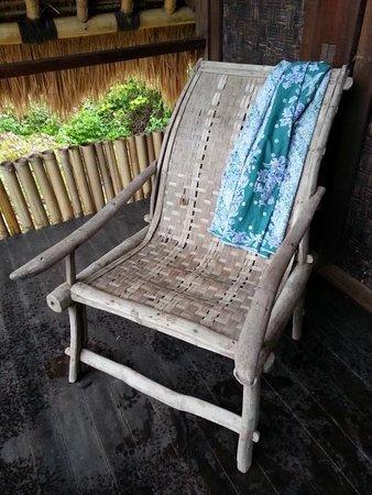 Jerowaru, إندونيسيا: Beautiful chair at the library