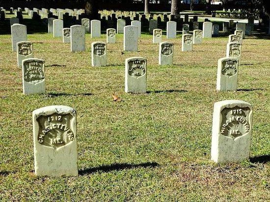 Beaufort, SC: cemetery