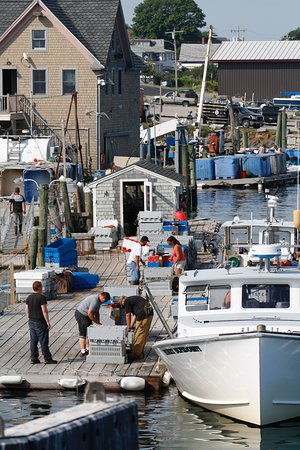 Rockland, ME: Busy working harbor