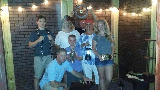 New Bern, NC: Bear Towne Escape Room