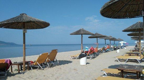 Keramoti (Ammoglossa) Beach