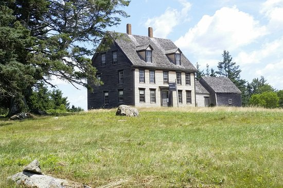 Rockland, ME: Olson house (seen in Andrew Wyeth's Christina's World painting