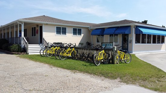 Pony Island Motel: Bike rentals