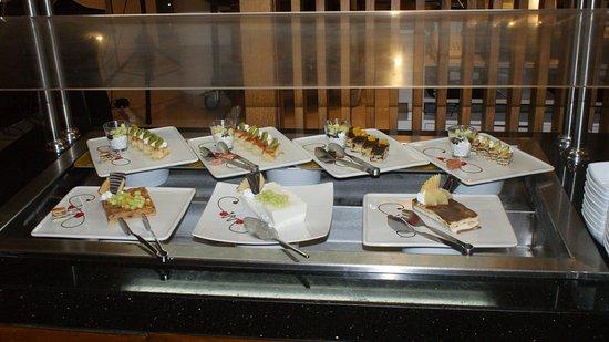 Steigenberger Makadi Hotel: Dessertenbuffet diner