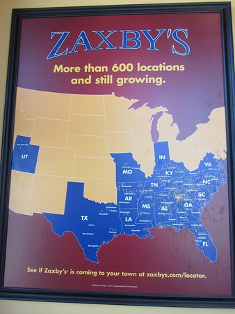 Zaxby's - Will westward expansion end in Utah? - Picture of Zaxby's on