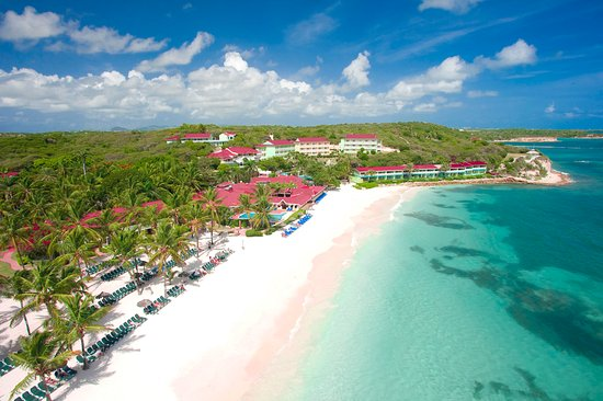 Pineapple Beach Club Antigua : Gorgeous White Sand Beach