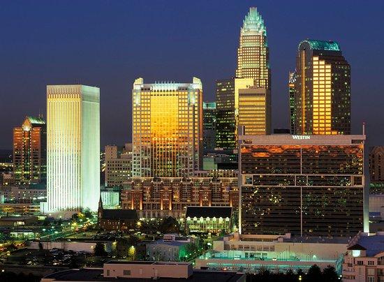 Gastonia, Carolina del Norte: Charlotte Skyline