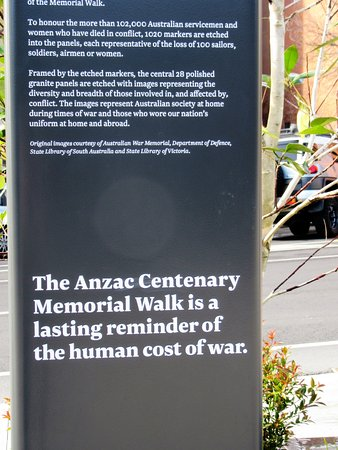 Anzac Centenary Memorial Walk