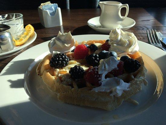 สตีเวนสัน, วอชิงตัน: The waffles are fantastic!