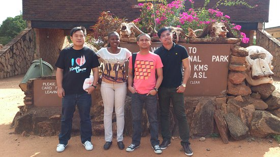 Tsavo National Park East, เคนยา: Travel now,the futureispromised to no one . My trip to Tsavo East National Park was a supa trip