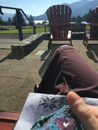 Stevenson, WA: Great outdoor spots to chill out.