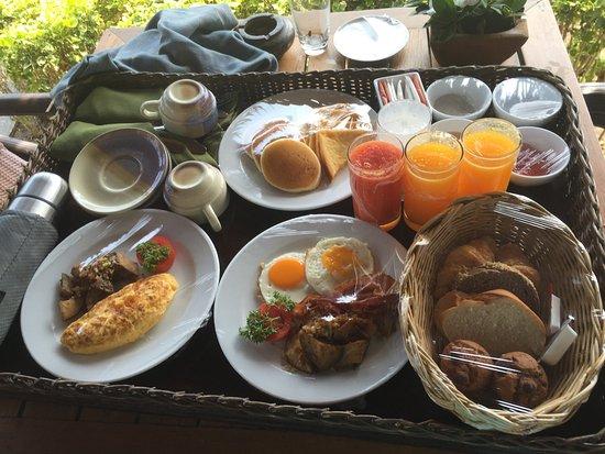 colazione in camera fatta dal Marlin