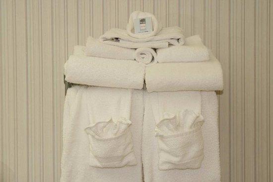 Pickwick Dam, Τενεσί: Fluffy Towels