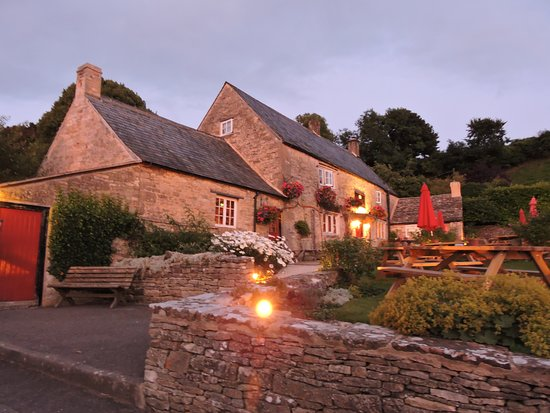 The Crown Inn: This was taken mid evening