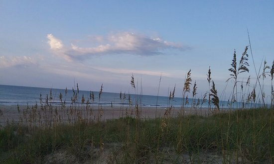 Ocracoke Campground: Beach