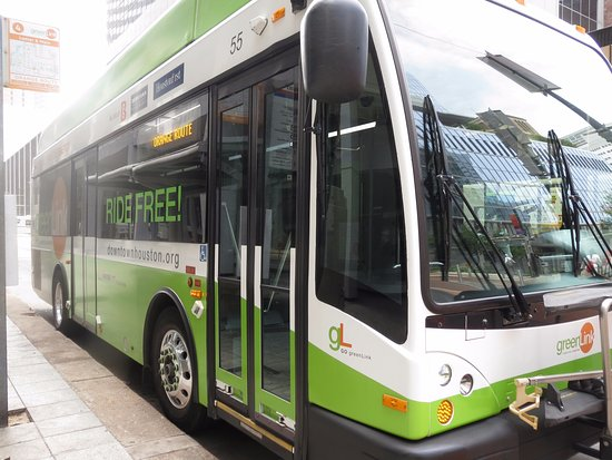 Greenlink Downtown Circulator Bus Houston TX Top Tips Before