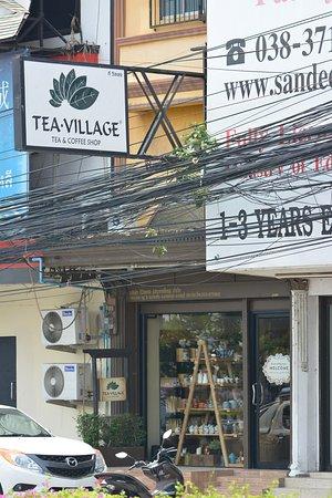 Bang Lamung, Tailandia: Tea Village Store view from outside