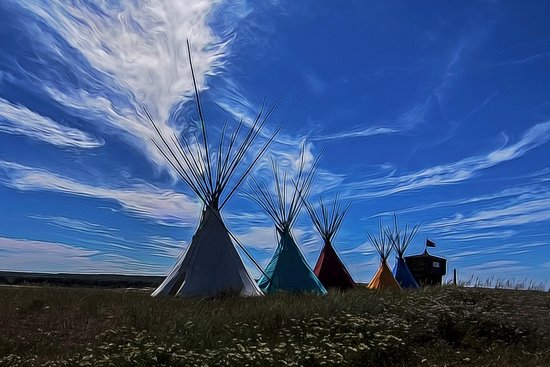 Crow Agency, มอนแทนา: The Trading Post at Little Bighorn Battlefield National Monument