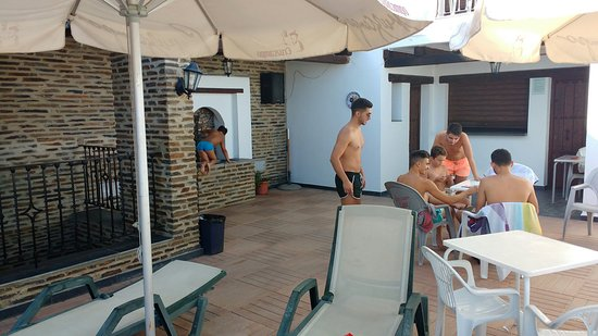 Berchules, Spanyol: Área de piscina