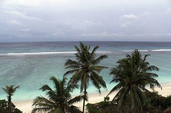 Hulhumale: Pantai