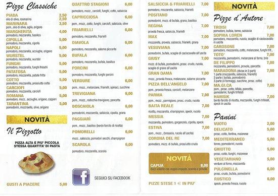 Salsiccia picture of pizzeria passio bologna tripadvisor for Il rosso bologna menu