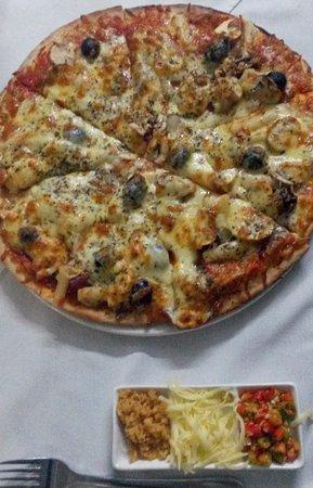 St. Helena Bay, Sudáfrica: Pizza