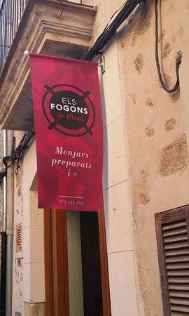 Bunyola, İspanya: This is our restaurant.