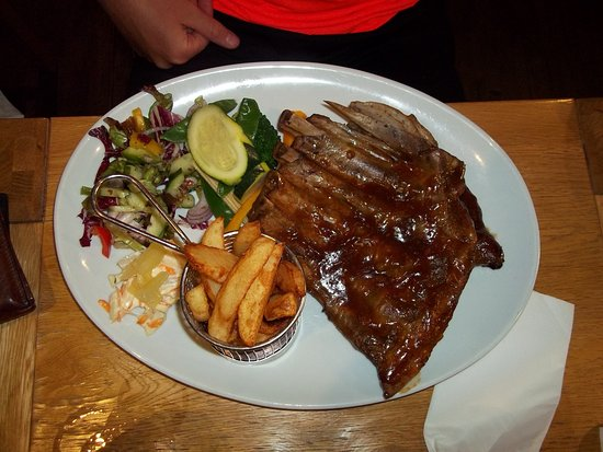 Bellingham, UK: The enormous spare ribs meal