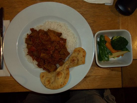 Bellingham, UK: Beef Madras