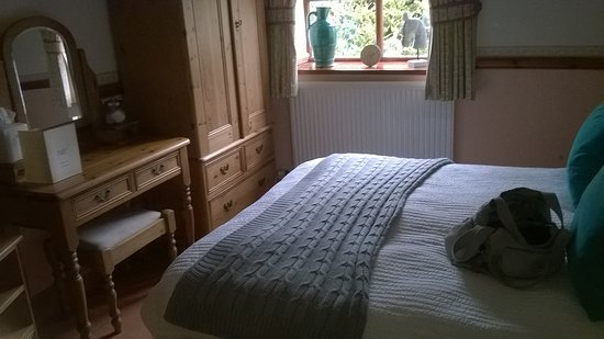 Bedale, UK: Comfy bed