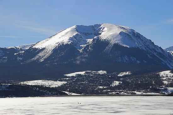 Dillon Reservoir: Winter