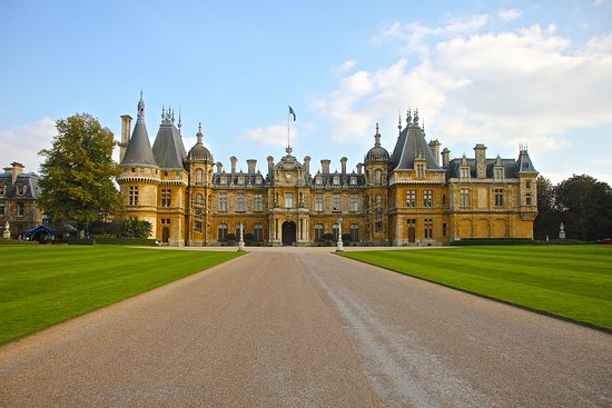 French chateau in england waddesdon manor a very impressive approach to a fabulous proper