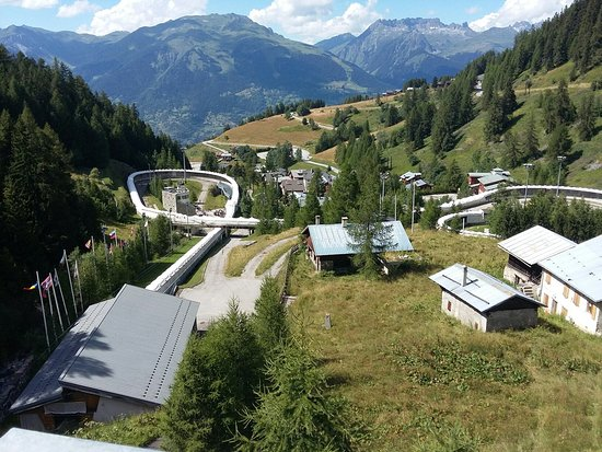Macot-la-Plagne, Fransa: La piste olympique