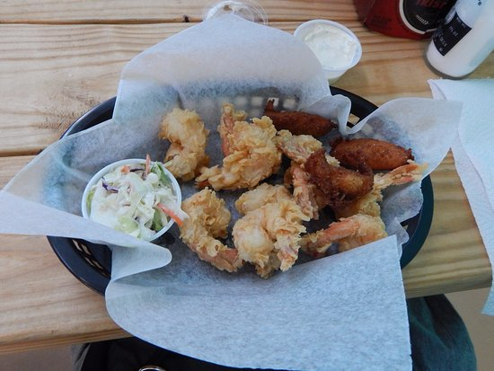 Carrollton, GA: Shucker's fried shrimp basket