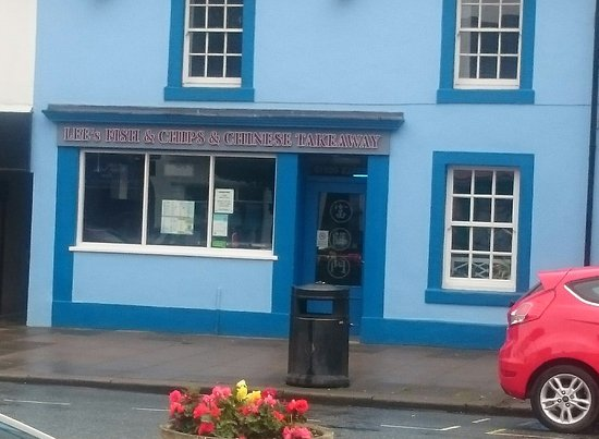 Cockermouth, UK: Lee's Fish & Chips & Chinese Takeaway