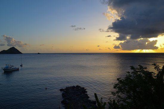 Cap Estate, St. Lucia: View from Grand Luxury Ocean Front Jnr Suite (467)