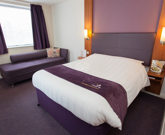 The Standard Double Room at the Premier Inn Birmingham City Centre (New St Station) Hotel
