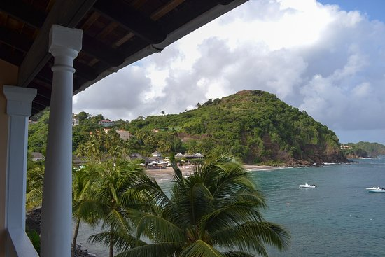 Cap Estate, Sta. Lucía: View from Grand Luxury Ocean Front Jnr Suite (467)
