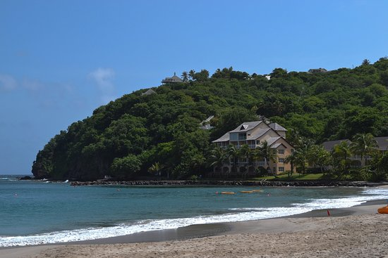 Cap Estate, St. Lucia: The Ocean Front block from the beach