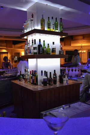 Cap Estate, St. Lucia: Clubhouse Bar