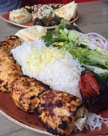 Irvine, Califórnia: Chicken Kebob