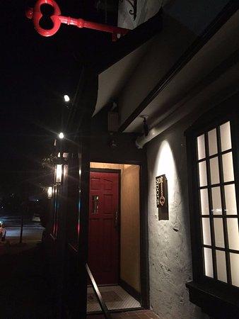 Corona del Mar, CA: the side door