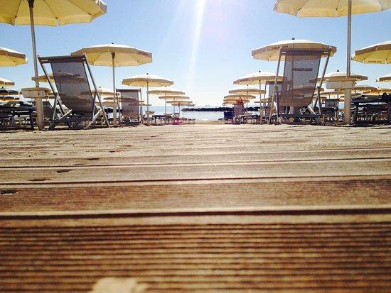 Hotel Baia Marina: La nostra spiaggia privata