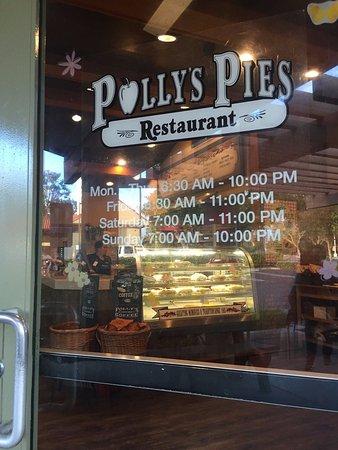 Polly S Pies Restaurant In Santa Ana Ca
